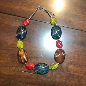 Multi color choker